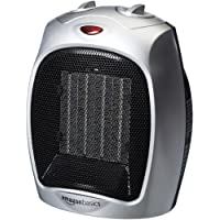 AmazonBasics 1500 Watt Ceramic Space Heater Adjustable Thermostat