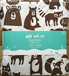 Amazon Com Bear Character Throw Pillow Pillowfort Trg Home Kitchen