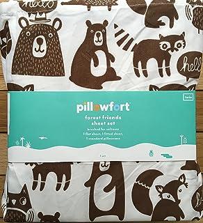 Amazon Com Bear Character Throw Pillow Pillowfort Trg Home Kitchen