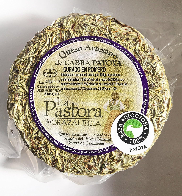 Queso Artesano de Cabra curado en romero. La Maroma Gourmet. Productos Andaluces de La Sierra de Grazalema, Cádiz, España. (1): Amazon.es: Alimentación y ...