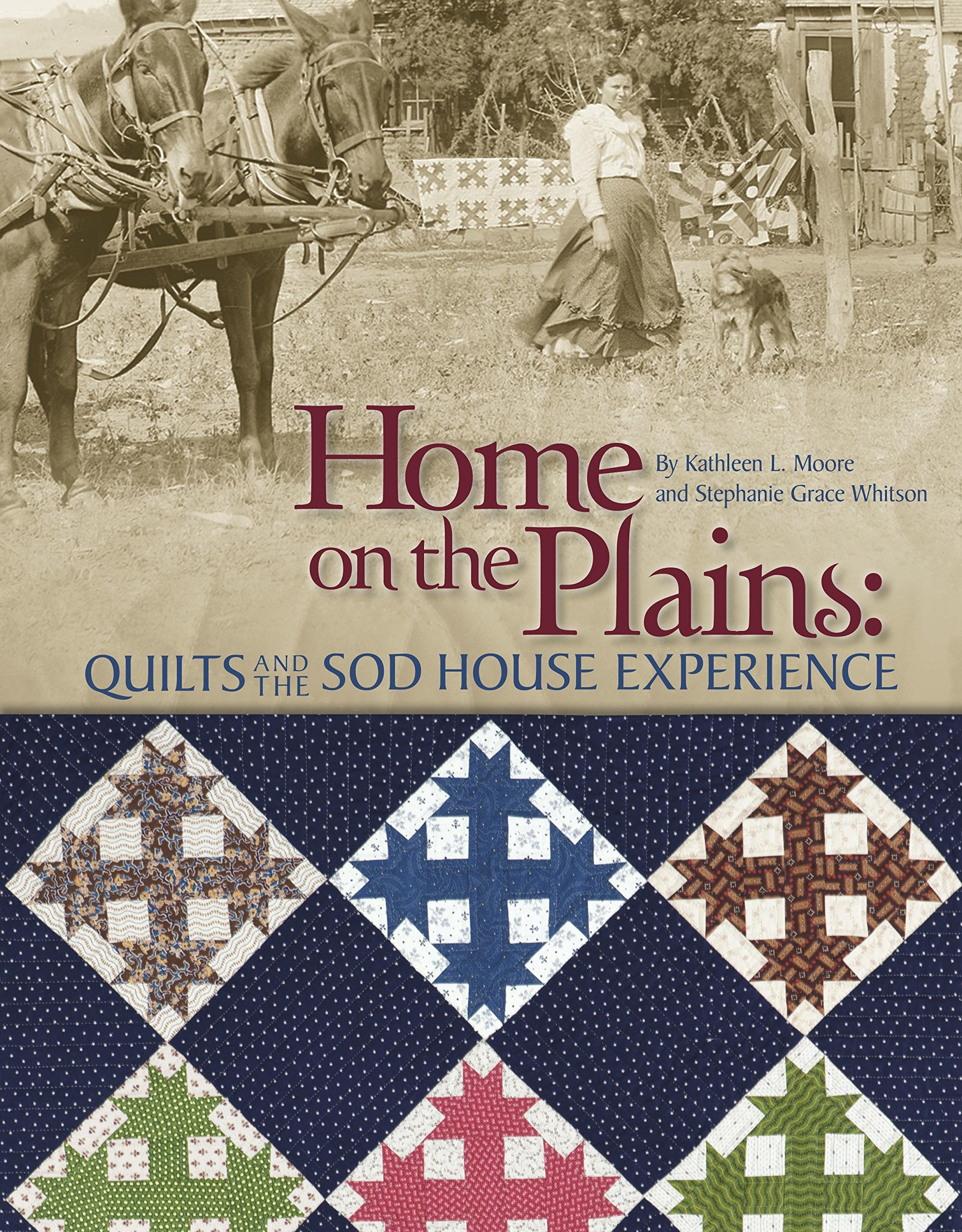 Home on the Plains: Quilts and the Sod House Experience: Kathy ... : quilt books - Adamdwight.com