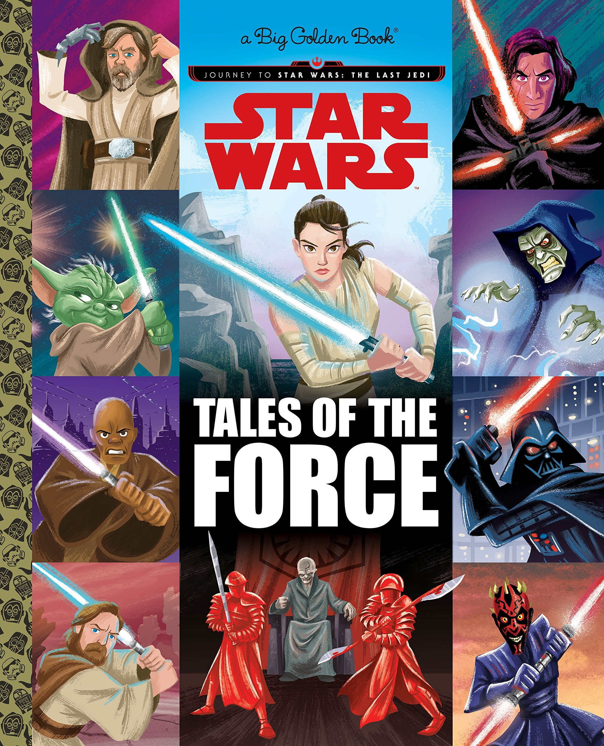 Tales of the Force (Star Wars) (Big Golden Book): Golden Books, Ron Cohee:  9781524770907: Amazon.com: Books