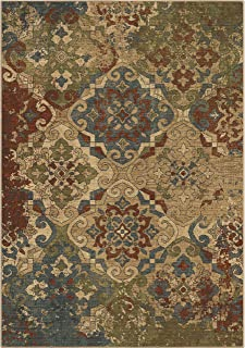 "product image for Orian Rugs Voyage Lansing Area Rug, 7'10"" x 10'10"", Tea Wash"