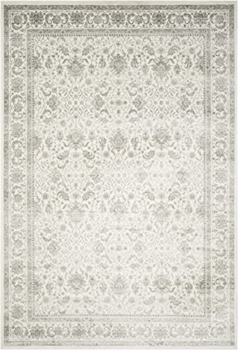 Safavieh Persian Garden Collection PEG607E Ivory and Silver Area Rug, 8 x 10