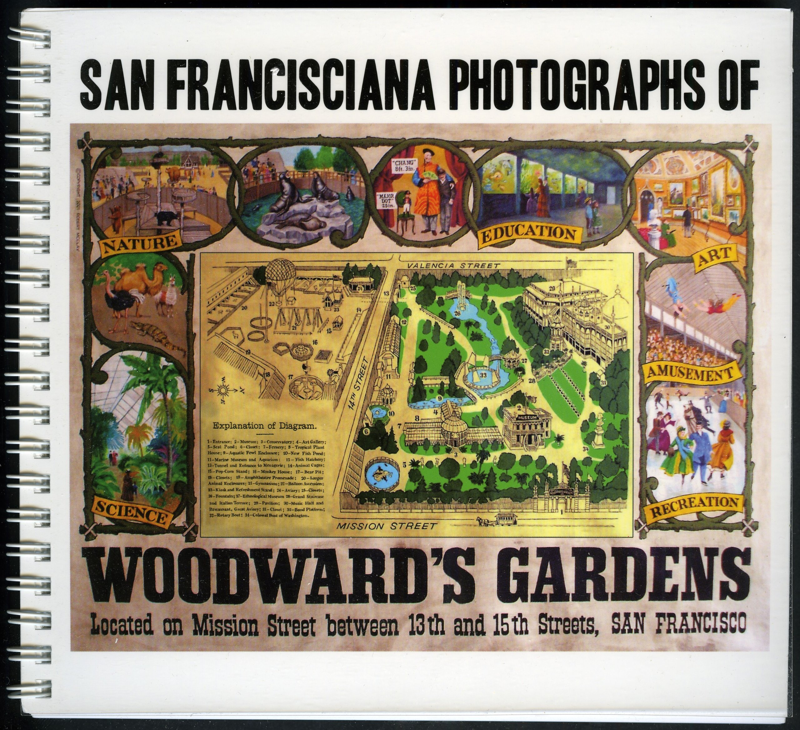 By Marilyn Blaisdell San Francisciana Photographs of Woodward's Gardens Book (1st First Edition) [Spiral-bound] pdf epub
