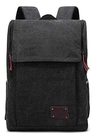 142980d95e88 Amazon.com  ZEBELLA Canvas 14 inch Laptop Backpack School Bag ...