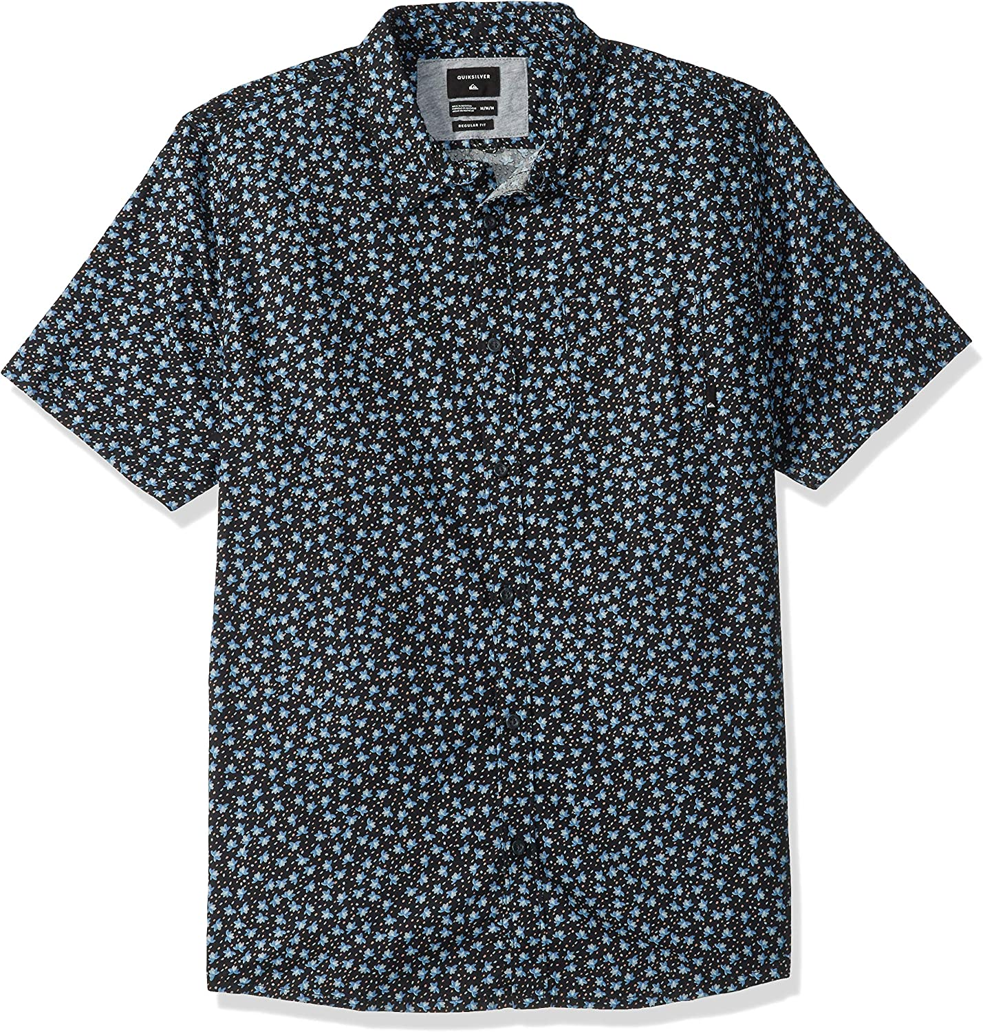 Quiksilver Mens Small Fry Short Sleeve Woven