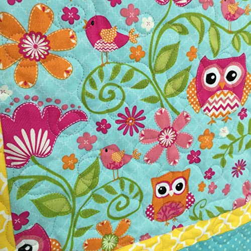 Amazon Baby Girl Quilt Owls And Birds Quilt Crib Quilt Baby