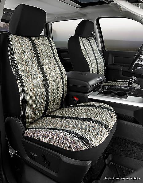 Black Saddle Blanket, Fia TR49-72 BLACK Custom Fit Front Seat Cover Bucket Seats
