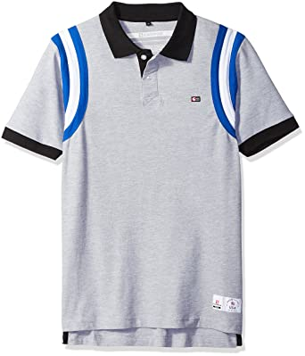 Southpole Men s Short Sleeve Stripe Polo Shirt  Amazon.co.uk  Clothing 07b0553c7