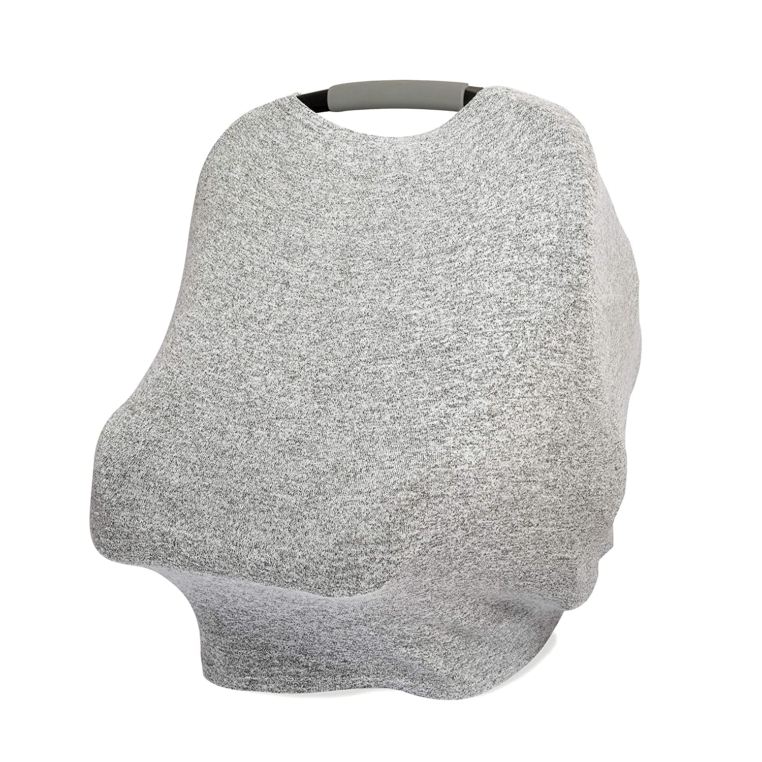 anais Snuggle Knit 6-in-1 Stretchy Multi-Use Cover for Car Seat Rosettes Nursing High Chair Cart Infinity Scarf Baby Swing aden