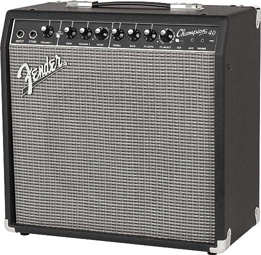 Fender 233-0306-900 - Amplificador de guitarra combo Champion ...