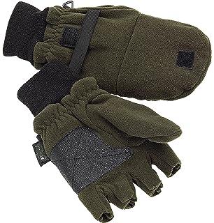 3b6f4e908bf23c Blaser Fleece Fäustling Handschuhe braun: Amazon.de: Sport & Freizeit
