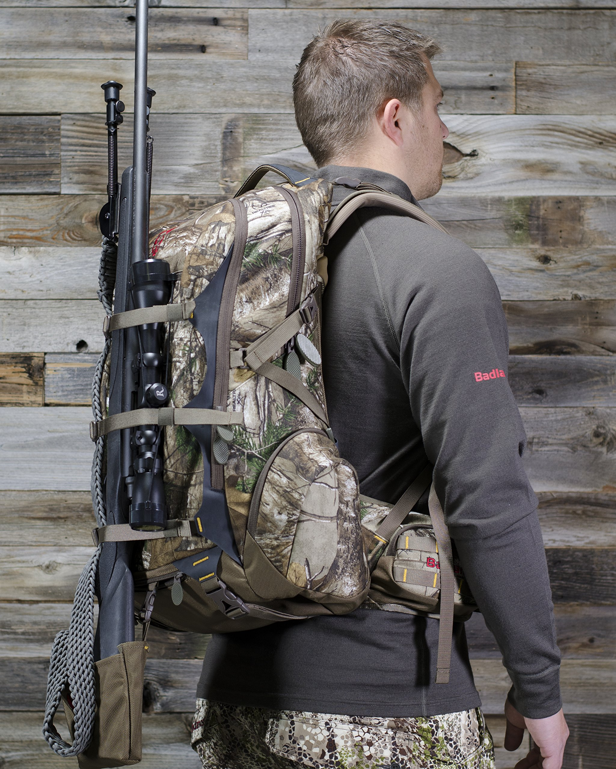 Badlands Diablo Dos Camouflage Hunting Pack, Bow and Rifle Compatible, RealTree Camo