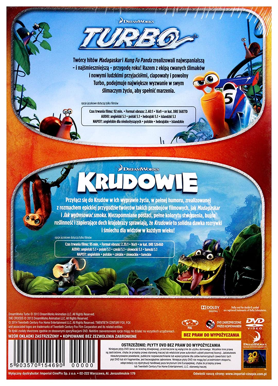 Turbo/The Croods BOX 2DVD IMPORT No hay versi243;n espa241;ola: Amazon.es: Michelle Rodriguez, Catherine Keener, Luis GuzmÄAn, Paul Giamatti, ...