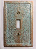 Aged Patina Light Switch Cover (Custom) (Copper/Patina)