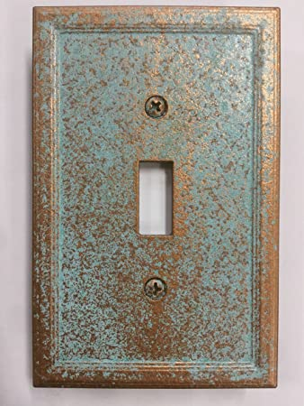 Amazon aged patina light switch cover custom copperpatina aged patina light switch cover custom copperpatina sciox Image collections