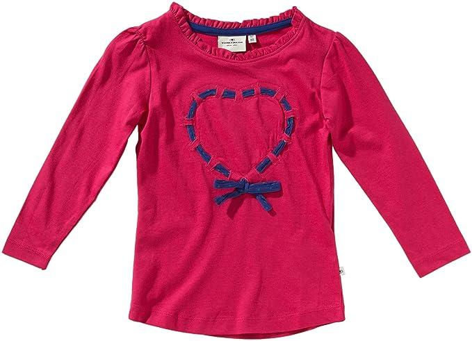 9c6615e25 Tom Tailor - Camiseta para niña, talla 2-3 años (92/98 cm), color rosa  5344: Amazon.es: Ropa y accesorios