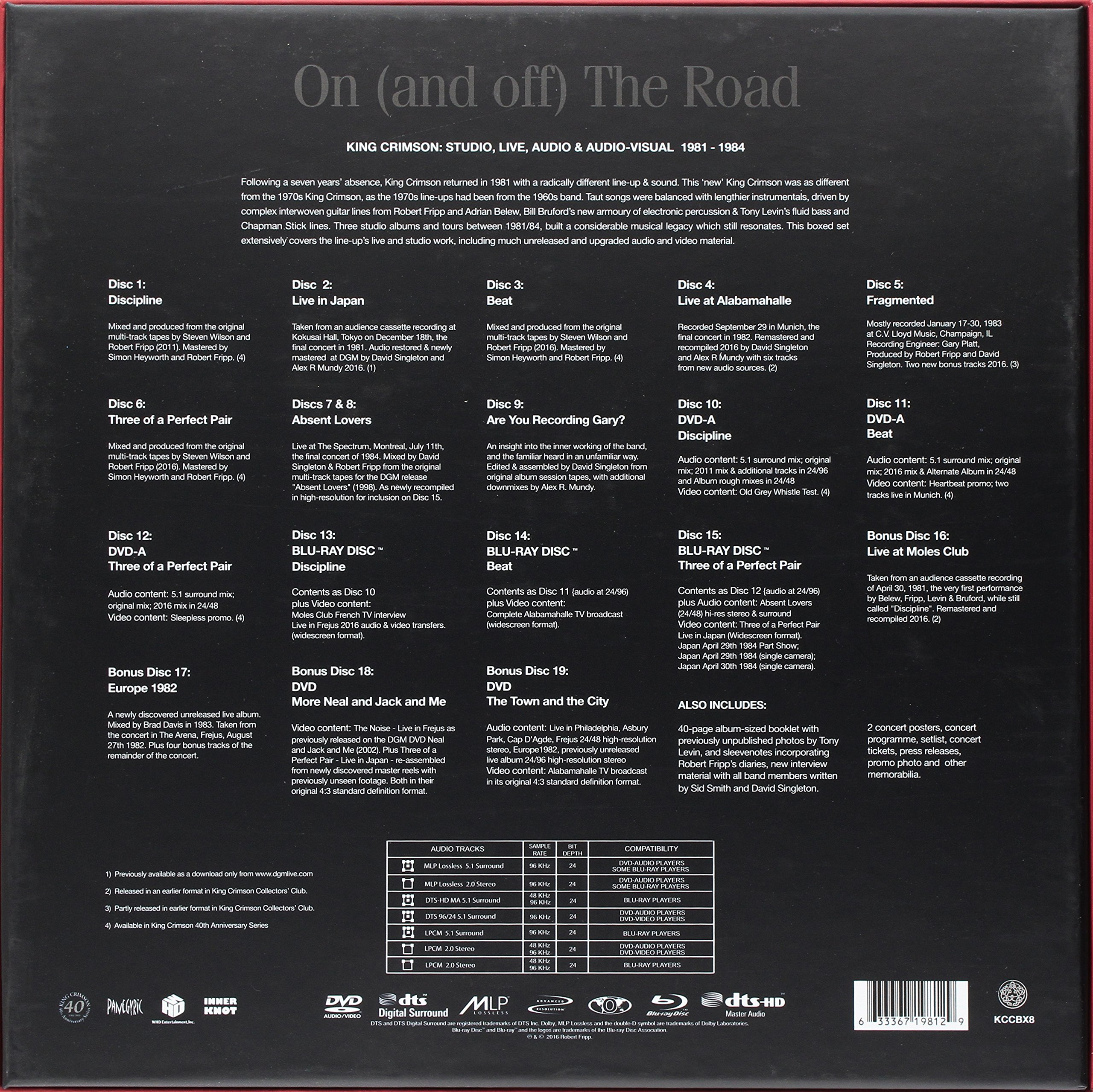On (And Off) The Road: 1981-1984 by CD
