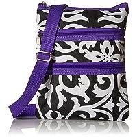 World Traveler Womens 9 Inch Swingpack Purse Bag