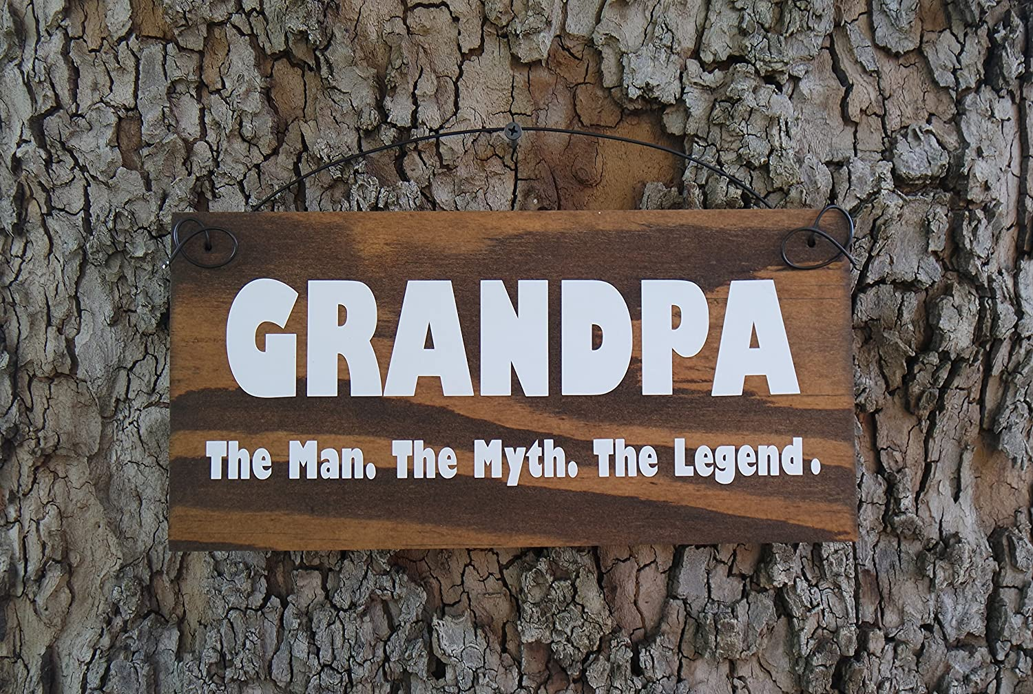 Amazon grandpa the man the myth the legend dad the man the amazon grandpa the man the myth the legend dad the man the myth the legend personalized man cave sign fathers day gift gift for dad sciox Gallery
