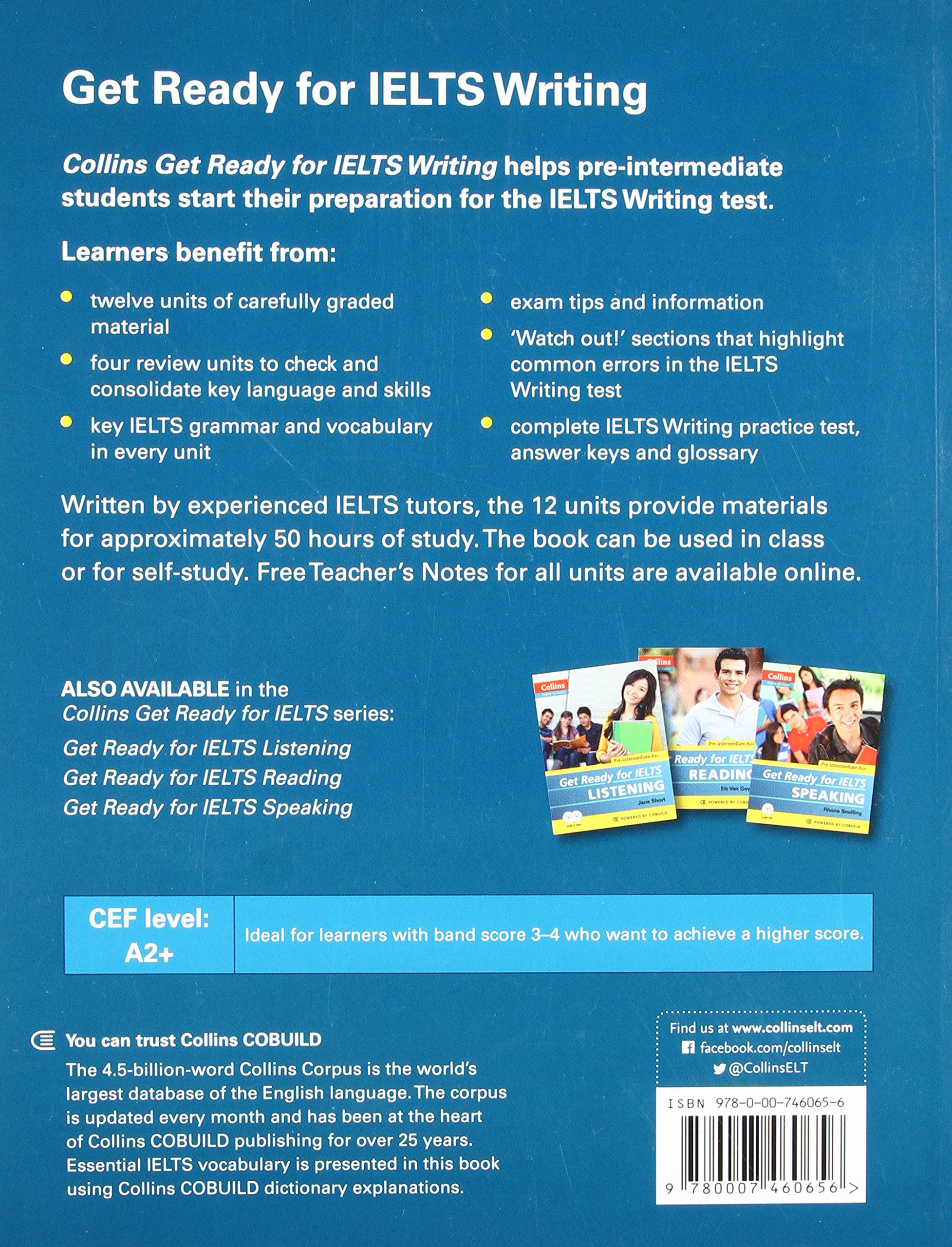 Get ready for ielts writing ielts 4 a2 collins english for ielts amazon co uk fiona aish jo tomlinson 9780007460656 books