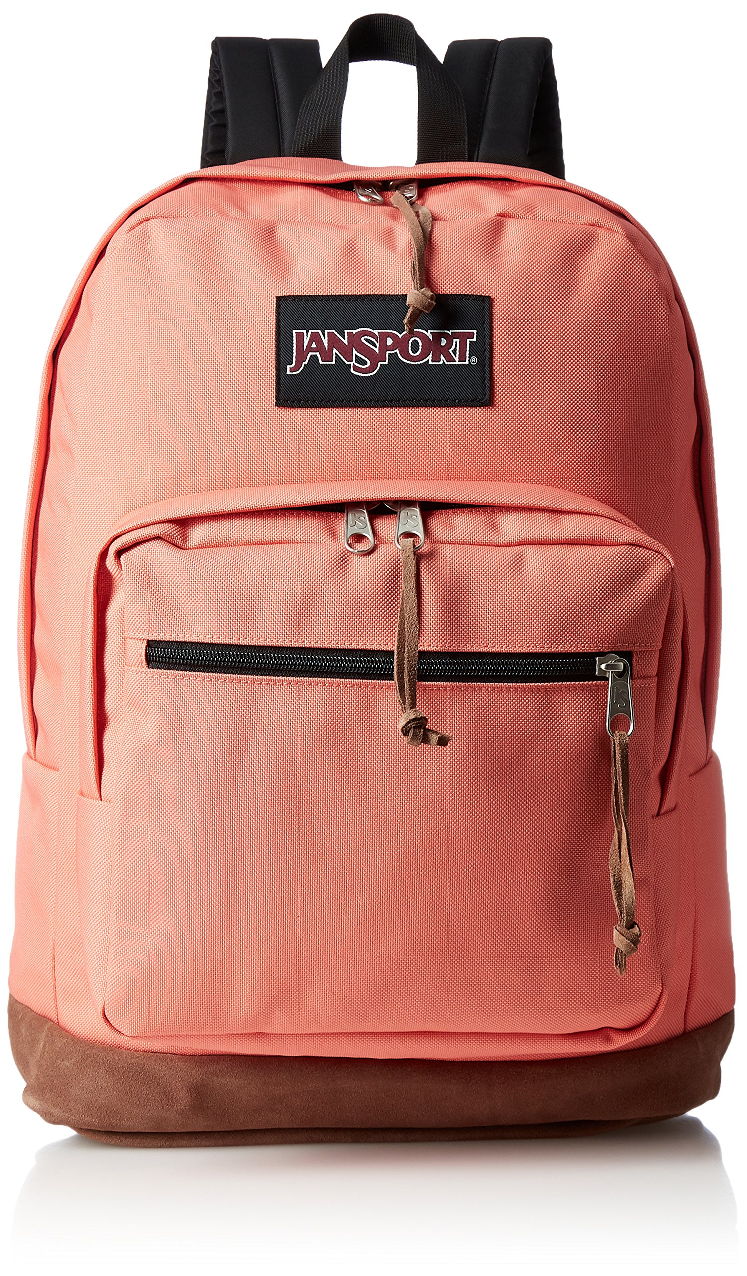 JanSport Unisex Right Pack Laptop Backpack Faded Coral