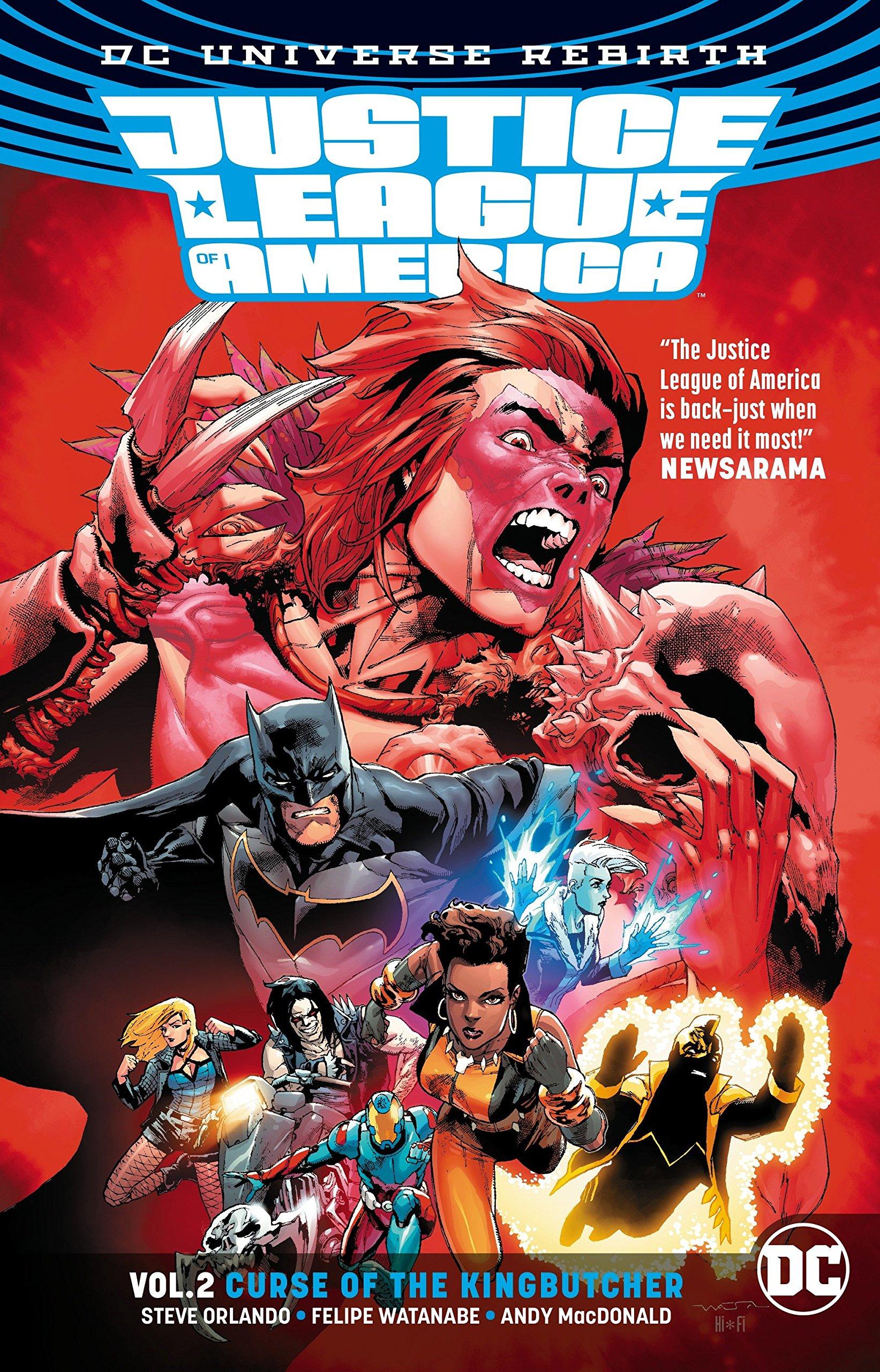 Amazon com: Justice League of America Vol  2: Curse of the