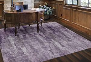 Brumlow Mills Rustic Abstract Bohemian Contemporary Colorful Print Pattern Area Rug for Living Room Decor, Dining, Kitchen Rugs, Bedroom or Entryway Rug, 7'6