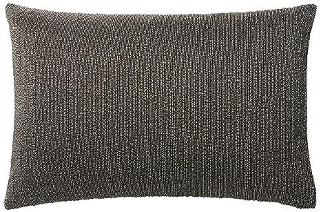 Amazon.com: Loloi almohada, poliéster relleno, color gris ...