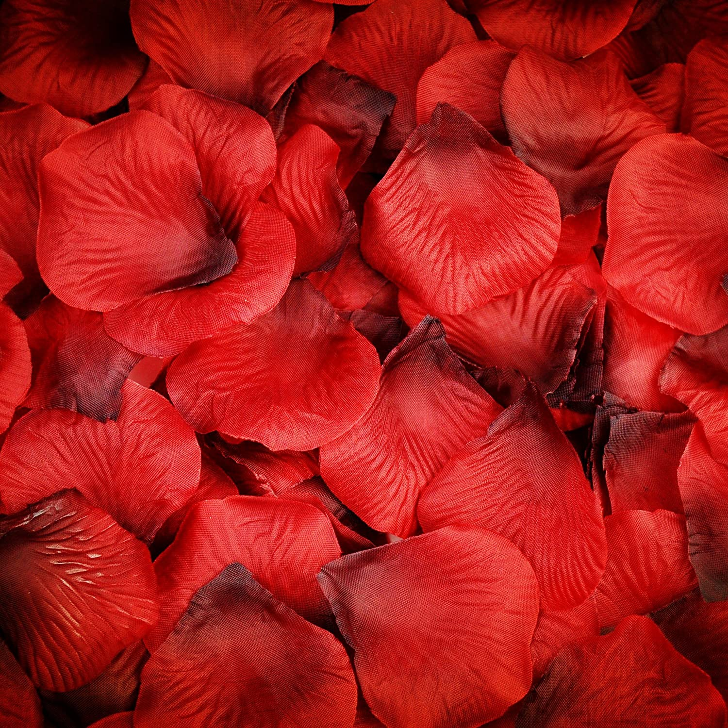 dark red Best Quality 1000 pcs Silk Rose Petals Wedding Party Decorations Flower Favors