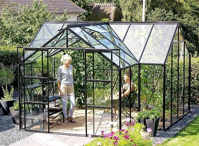 Gartenwelt Riegelsberger Sirius Orangerie - Invernadero ESG 3 mm ...