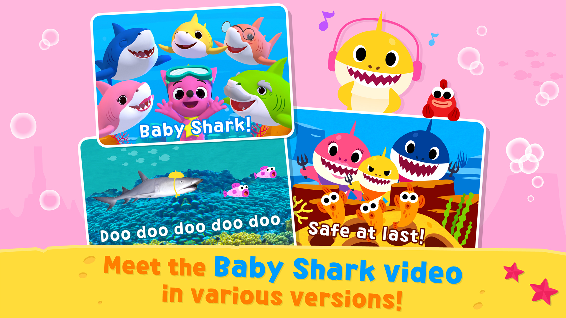 Amazon Com Pinkfong Baby Shark Appstore For Android