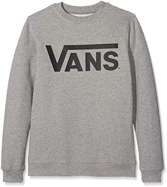 2c0b590039 Vans Classic Crew Boys Sweatshirt  Amazon.co.uk  Clothing