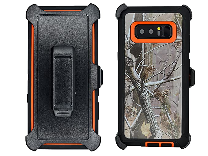 finest selection 1a716 19e2b AlphaCell Cover Compatible with Samsung Galaxy Note 8 | Holster Case Series  | Military Grade Protection with Carrying Belt Clip | Protective ...