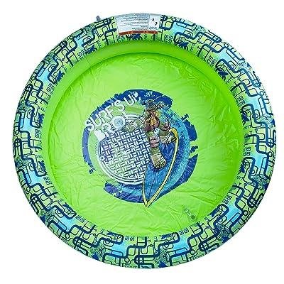 Teenage Mutant Ninja Turtles 3' 2-Ring Pool Toy: Toys & Games