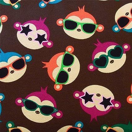 0,5 m Jersey mono con gafas de sol marrón: Amazon.es: Hogar