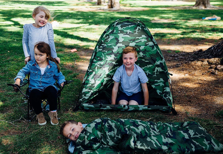 CHILDRENS//KIDS BTP CAMO SLEEPING BAG CAMPING BOYS /& GIRLS FREE DELIVERY