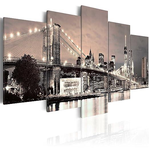83 opinioni per murando- Quadro 100x50 cm- 5 Parti- Quadro su tela fliselina- Stampa in qualita