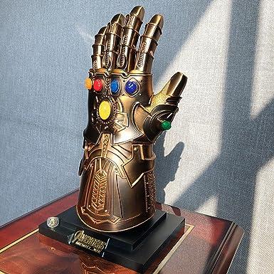 Avengers Infinity War Cosplay Gloves Thanos Infinity Gauntlet  Armor Latex Hands