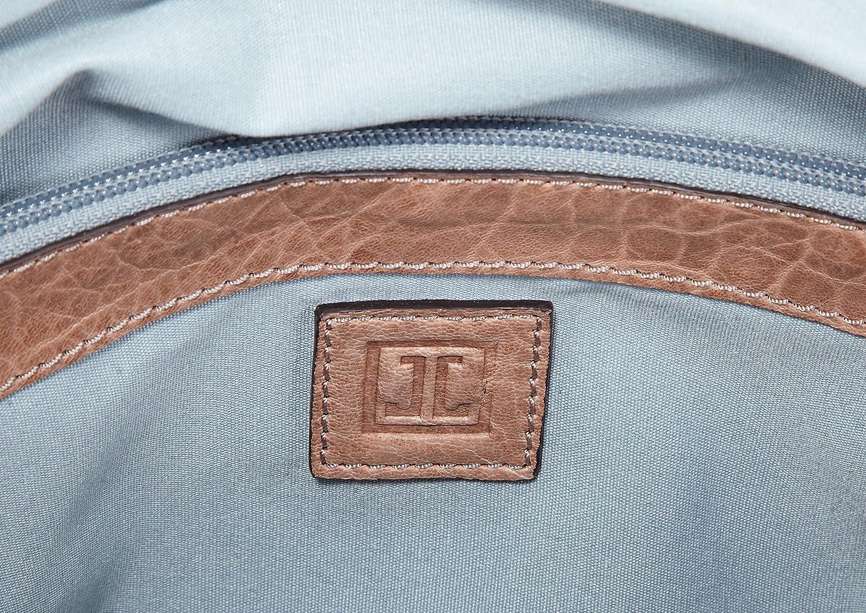 JETTE Mrs. Fox Handbag 4030001026, Damen Henkeltaschen 35x24x16 cm (B x H x T) Weiß (Nature 103)
