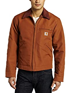 Amazon.com: Carhartt Mens Big & Tall Twill Work Jacket ...
