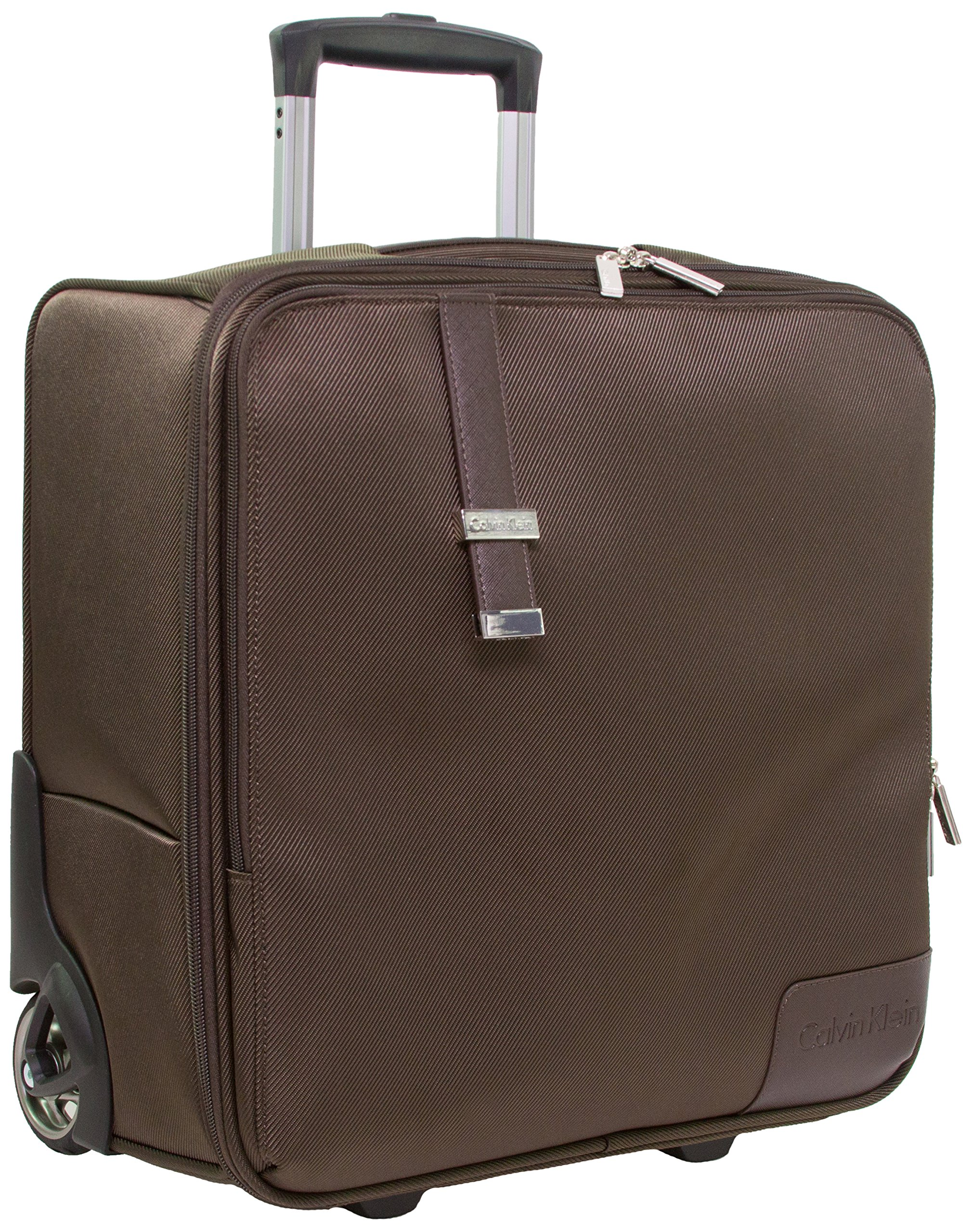 Calvin Klein Dylan Pilot Case, Brown by Calvin Klein