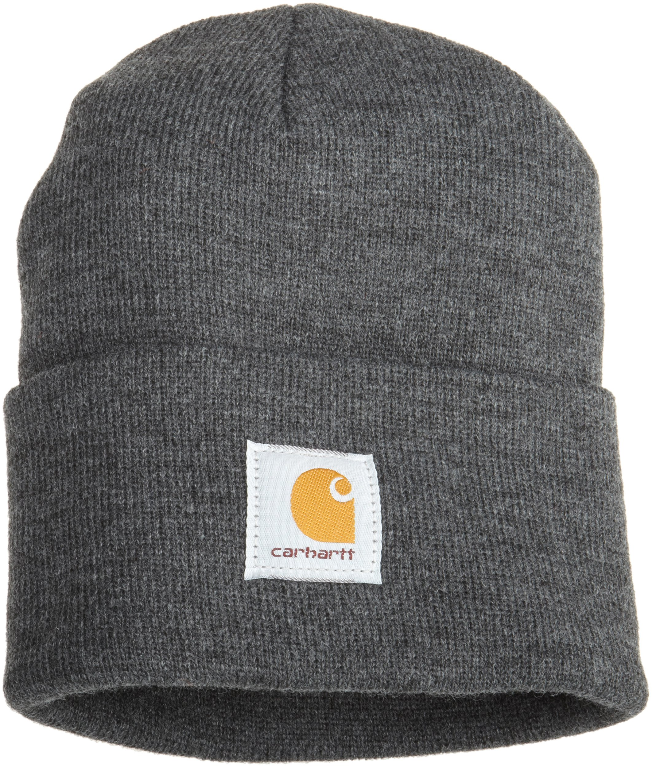 Carhartt Men's Acrylic Watch Hat A18, Coal Heather One Size