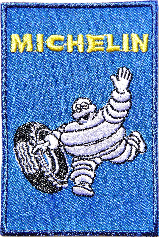 Hombre Michelin neumáticos logotipo del equipo cartel ...