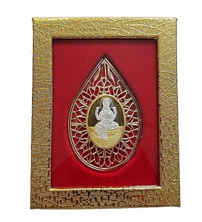 10gms Lord Lakshmi Laxmi Shri 999 Pure Silver Religion Coin For