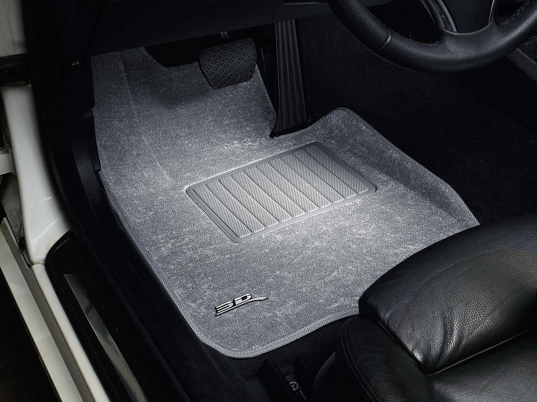 Classic Carpet 3D MAXpider Complete Set Custom Fit Floor Mat for Select Volkswagen Passat Models Gray L1VW05602201