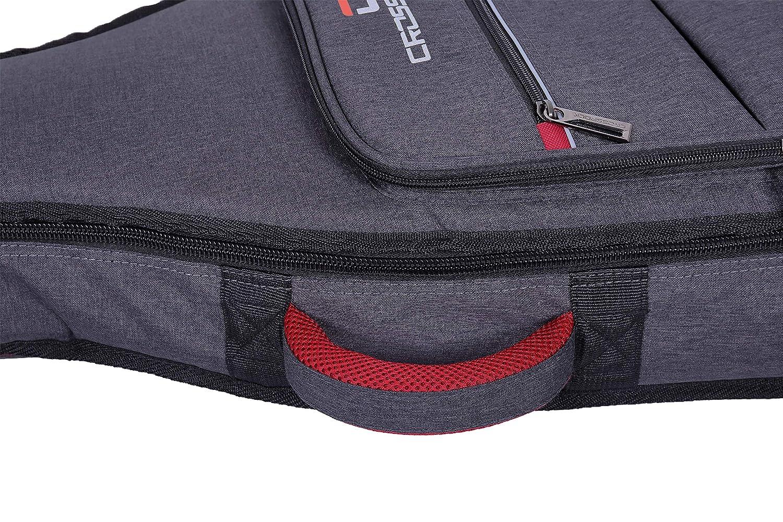 Crossrock Funda para guitarra cl/ásica mochila acolchada de 10 mm CRSG107CDG