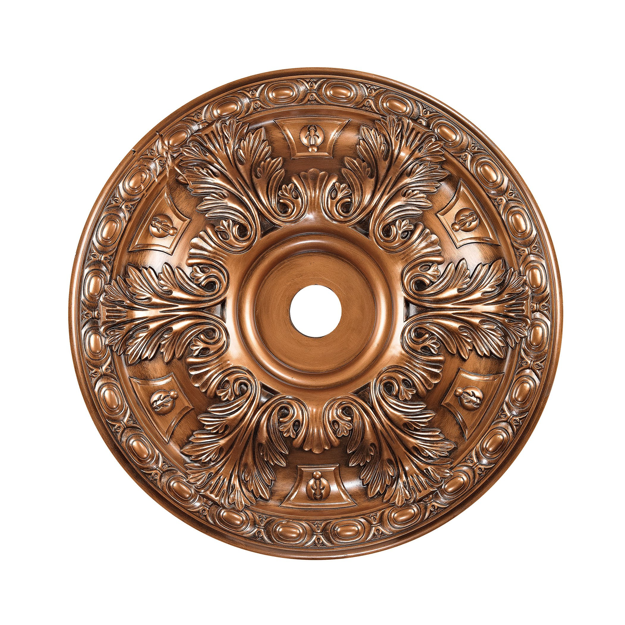 Elk Lighting Pennington 36'' Medallion Ceiling Canopy in Antique Bronze