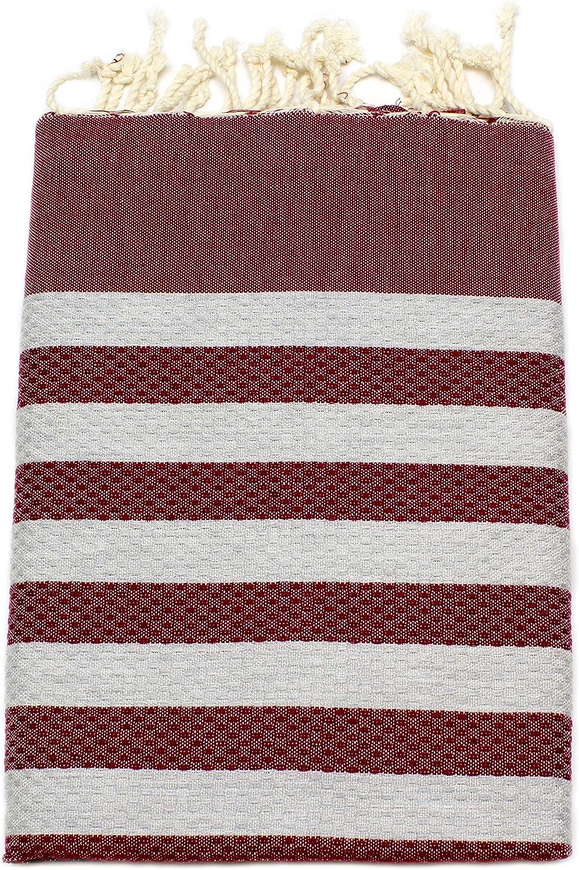 Yoga-Decke orientalisches Bade-Tuch 100/% gek/ämmte Baumwolle aus Tunesien als Strandtuch ANNA ANIQ Fouta Hamamtuch Saunatuch XXL Extra Gro/ß 197 x 100cm Strand-Handtuch Pestemal Pink